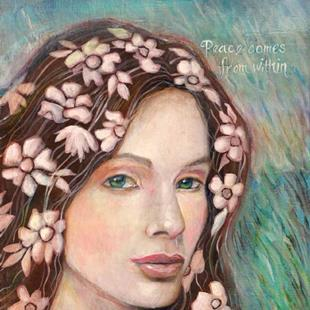 Art: Peace Fairy by Artist Catherine Darling Hostetter
