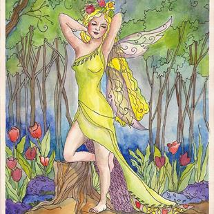 Art: Spring Has Sprung by Artist Catherine Darling Hostetter