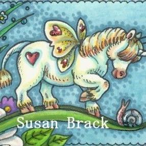 Art: A NEW FRIEND by Artist Susan Brack