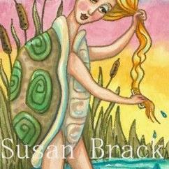 Art: MOCK TURTLE MAIDEN by Artist Susan Brack
