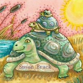 Art: TURTLE POND by Artist Susan Brack
