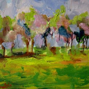 Art: Romantic Landscape by Artist Delilah Smith