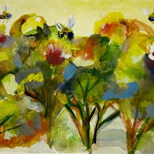 Art: Busy Bees by Artist Delilah Smith