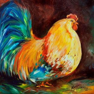 Art: ROO ROO ROOSTER by Artist Marcia Baldwin