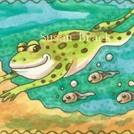 Art: NEXT GENERATION - Tadpoles by Artist Susan Brack