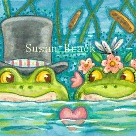 Art: SINK OR SWIM by Artist Susan Brack