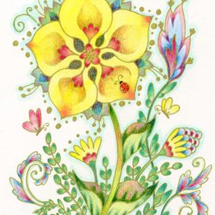 Art: Yellow Joy - Available by Artist Carmen Medlin
