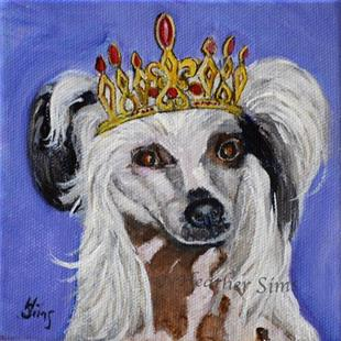 Art: Coronation: King Buttercup by Artist Heather Sims