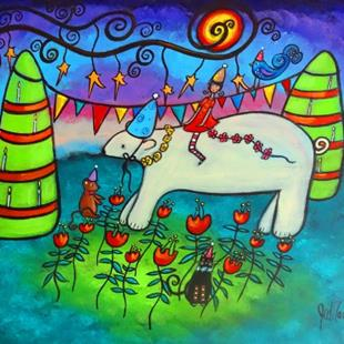 Art: The Celebration by Artist Juli Cady Ryan