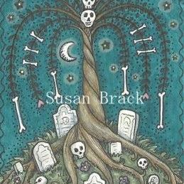Art: FAMILY TREE by Artist Susan Brack