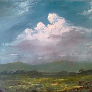 Art: Approaching Storm, Kentucky 2013 by Artist Kimberly Vanlandingham