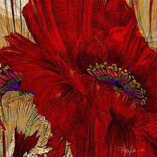 Art: Poppy Fields ab lr.jpg by Artist Alma Lee