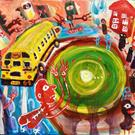 Art: The Great School Bus Chase by Artist Elisa Vegliante