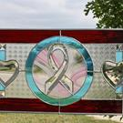 Art: 1055 AWARNESS RIBBON HEARTS & LOVE by Artist Chris Gleim