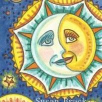 Art: STARRY DAYS AND SUNNY NIGHTS by Artist Susan Brack