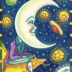 Art: WISH UPON A STAR by Artist Susan Brack