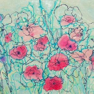 Art: My Poppies by Artist Mary Anne Carley