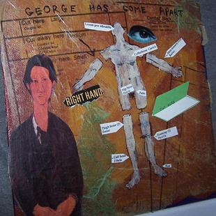 Art: George Has Come Apart view 2 SOLD by Artist Nancy Denommee