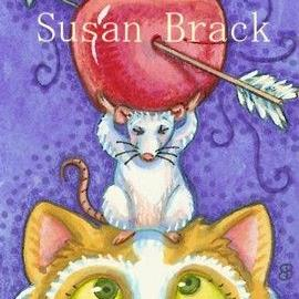 Art: WILLIAM TELL HAD A CAT by Artist Susan Brack