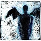 Art: Dark Angel by Artist Kathy Morton Stanion