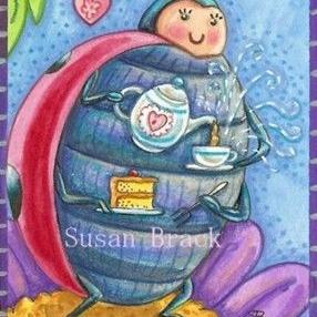 Art: TIME FOR TEA by Artist Susan Brack