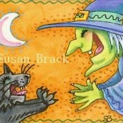 Art: THE CAT CAME BACK by Artist Susan Brack