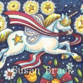 Art: FOURTH OF JULY HORSEFLY by Artist Susan Brack