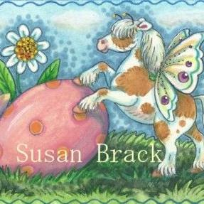 Art: EASTER EGG ROLL by Artist Susan Brack