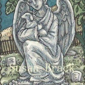 Art: GUARDIAN ANGEL by Artist Susan Brack