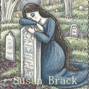 Art: LAST EMBRACE by Artist Susan Brack