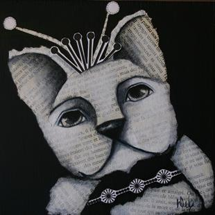 Art: Frenchie by Artist Deb Harvey