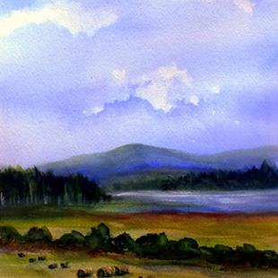 Art: The Work is Done! (sold) by Artist Kathy Crawshay
