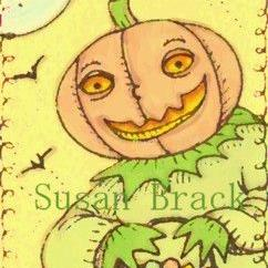 Art: SMILES ARE FREE JACK by Artist Susan Brack