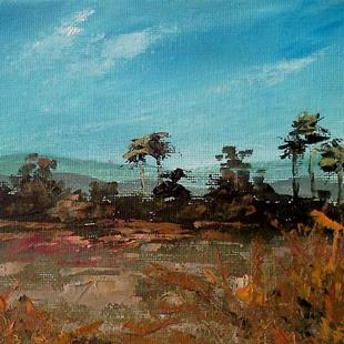 Art: Salt Marsh Everglades 2013.jpg by Artist Kimberly Vanlandingham
