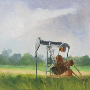 Art: Pumping Jack by Artist Barbara Haviland