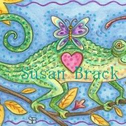 Art: BUTTERFLY DELIGHT by Artist Susan Brack
