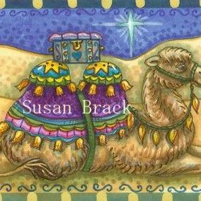 Art: GIFT FOR THE KING by Artist Susan Brack
