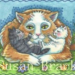 Art: MOMMA'S BOYS by Artist Susan Brack