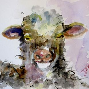 Art: Lamb-sold by Artist Delilah Smith