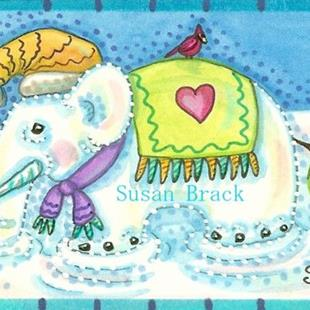 Art: ICICLE TUSKS by Artist Susan Brack
