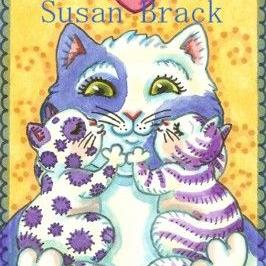 Art: HUG N' KISSES by Artist Susan Brack