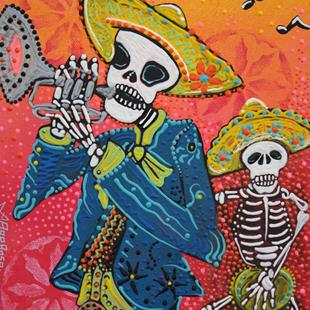 Art: The Musical Dead by Artist Laura Barbosa