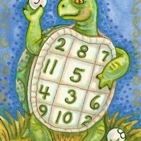 Art: TURTLE POND BINGO by Artist Susan Brack