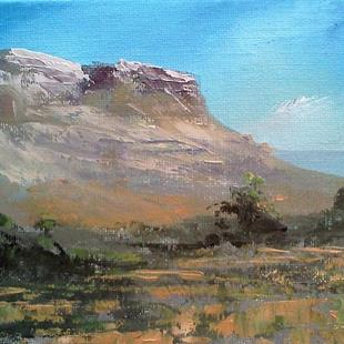 Art: Western Highland 2013 by Artist Kimberly Vanlandingham