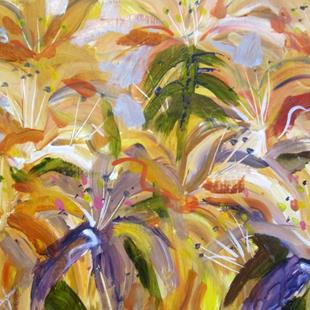 Art: Day Lilies by Artist Delilah Smith