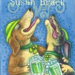 Art: A LITTLE BIT IRISH by Artist Susan Brack