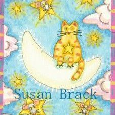 Art: MOON KITTY by Artist Susan Brack