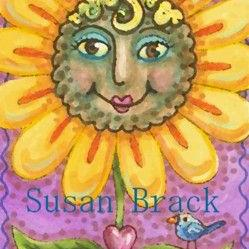 Art: BLACK EYED SUZY by Artist Susan Brack