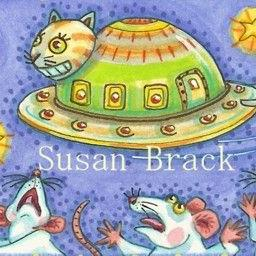 Art: INVADERS FROM PLANET FELINUS by Artist Susan Brack