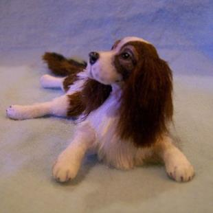Art: Custom Springer Spaniel by Artist Camille Meeker Turner